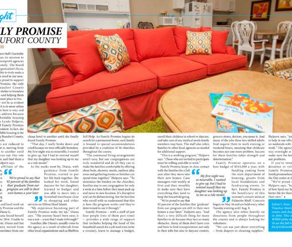 Charity Spotlight – Family Promise of Beaufort