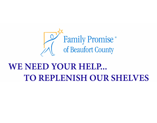HELP REPLENISH OUR SHELVES